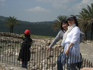Pastor and Evelyn at Megiddo